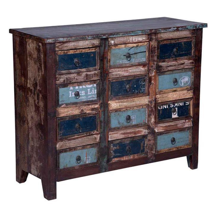 Maadze Vintage 12 Drawer Dresser | Chest