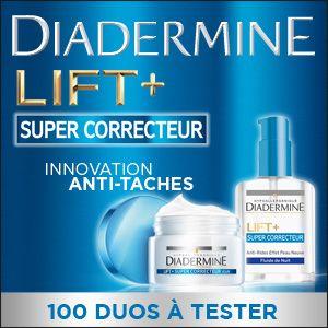 Testez la gamme Lift+ Super Correcteur de Diadermine En savoir plus sur http://www.beaute-test.com/service/test-produit-diadermine-anti-rides-lift-super-correcteur.php#jIs35LByZdlj7oev.99