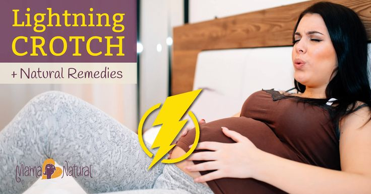Lightning crotch is a sudden, sharp pain that occurs in the pelvis, rectum, or vulva. Here's the 411 on pregnancy lightning crotch plus natural remedies!