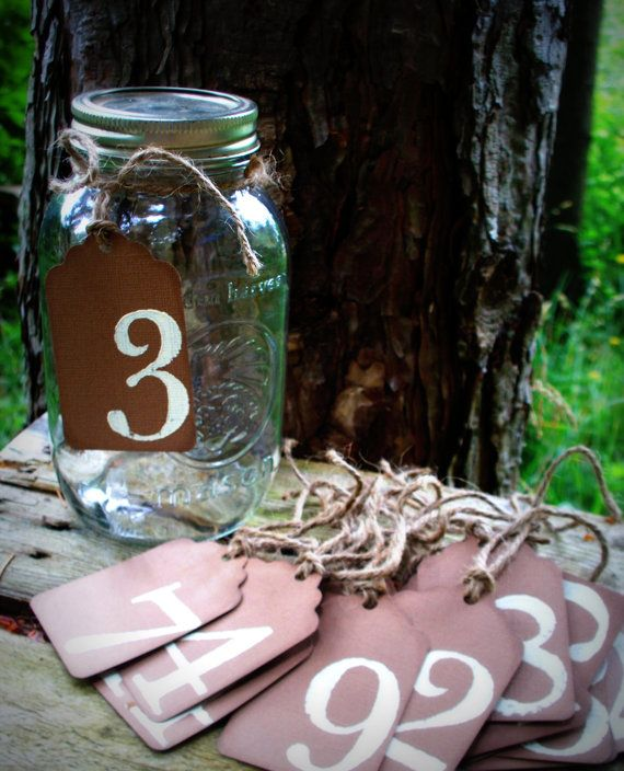 Jar table numbers