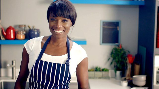 Lorraine Pascale: Chicken Cashew and honey stirfry