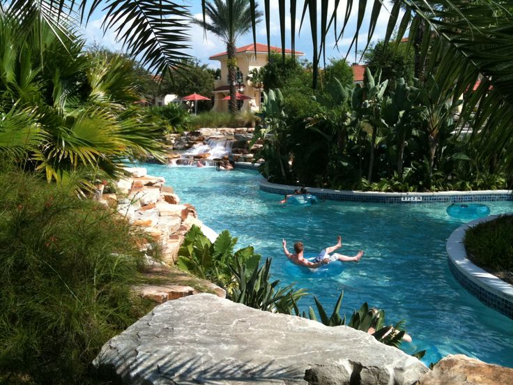 Tour of the River Island Water Park Area of Orange Lake Resort Orlando