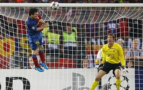 2009 Barcelona Champions League winners - Messi header seals the victory.