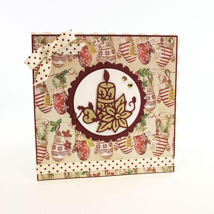 Rococo Petite Die - Ornate Candle - 1014e - Tonic Gold