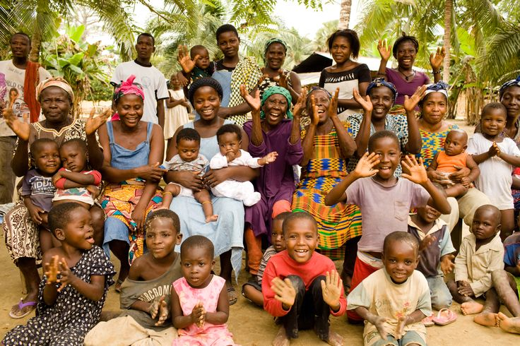 Cocoa Growing Community In Ghana Where The Rainforest