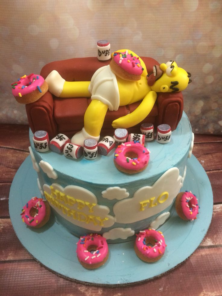 25+ best ideas about Simpsons cake on Pinterest Homer ...