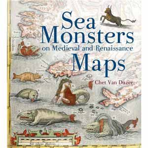 Now out in paperback - Sea Monsters on Medieval and Renaissance #Maps