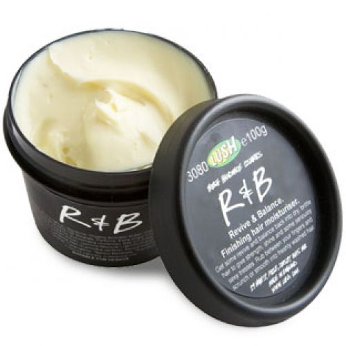 R & B Tame your mane with some smooth R&B stylings. The tropical butters and candelilla wax will help to moisturise and control frizzy, flyaway hair, but R & B works to soothe dry scalps, too, with calming oat milk. And once you smell the orange blossom absolute, your hair will well and truly get its groove back.