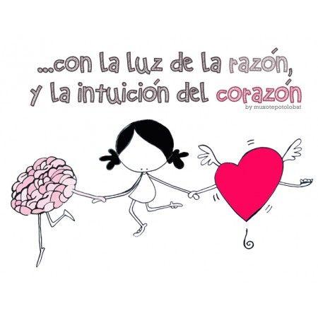 """Lámina """"Razón y corazón"""""""