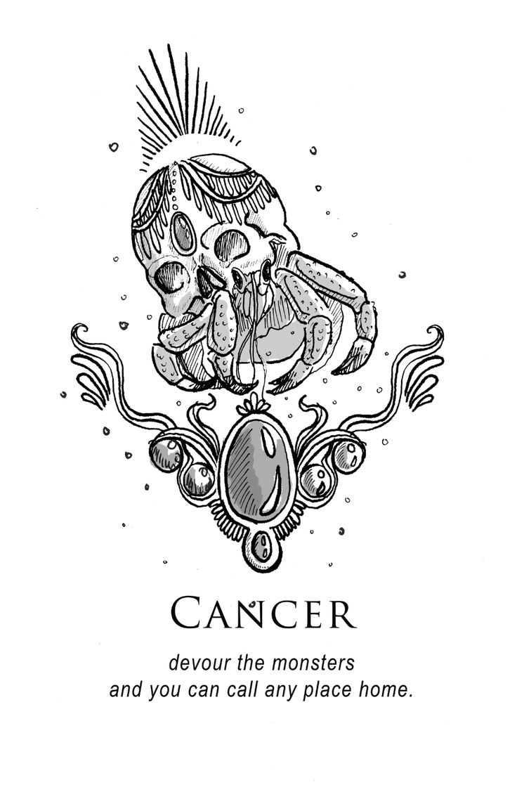 Cancer Zodiac Art, Aquarius And Cancer, Cancer Horoscope, Horoscopes, Cancer Sun Sign, My Moon Sign, Crab Tattoo, Crab Art, My Moon And Stars