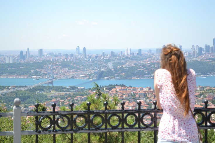 view from the balcony of camlica hill from the tour of istanbul asian side