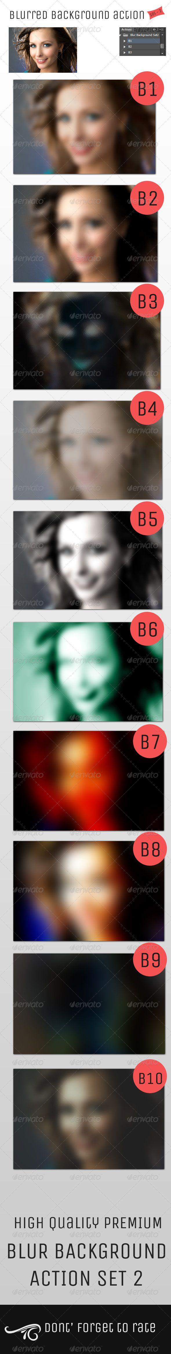 Blur Background Action Set V2
