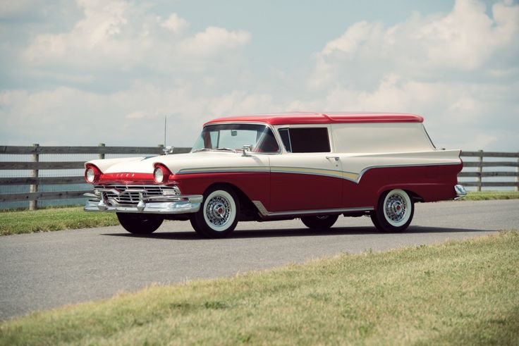 Another non-car to make the board but cool enough to justify a place - a 1957 Ford Courier Sedan Delivery