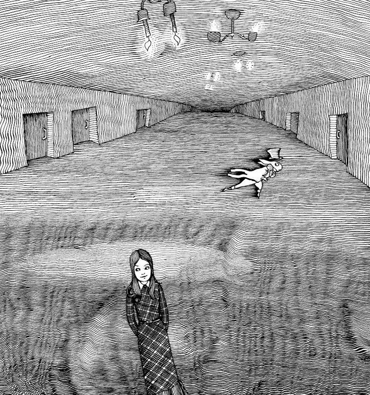 Льюис Кэрролл. Приключения Алисы в Стране Чудес. Художник Геннадий Калиновский. Издательство Нигма, 2016 г. (переиздание 1974 г.)