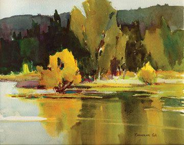 The 25+ best Watercolor landscape tutorial ideas on Pinterest ...