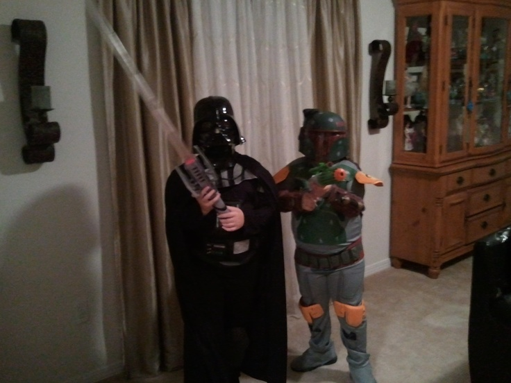 Star wars costumes for Halloween or pretend play!