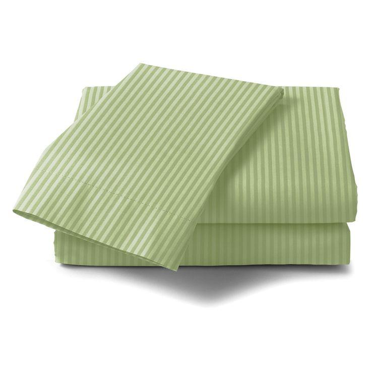 Lavish Home 300 Thread Count Cotton Sateen Sheet Set - 66-00015-Q-WHT