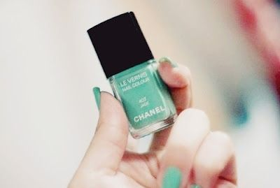 Jade by Chanel: Summer Fashion, Chanel, Hairs Nails Makeup, Jade, Color Prints Texture, Nails Polish, Beauty, Something Blue, Cosmetics Channel