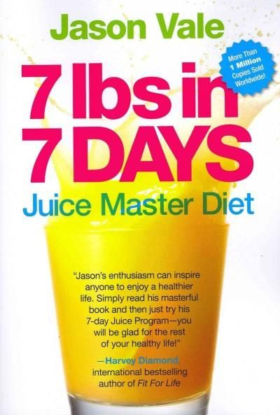 Offers a diet and exercise plan using juicing to help lose weight.