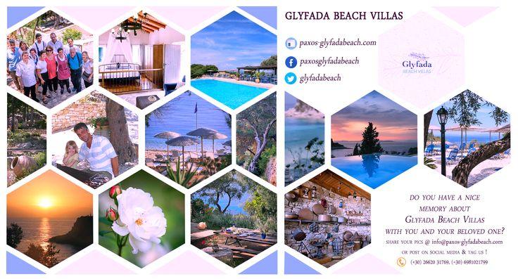 Share your #memories ! #GlyfadaBeachVillas