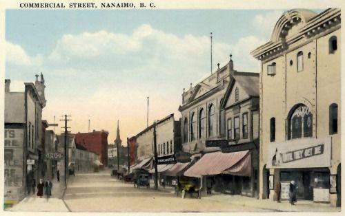 Nanaimo BC | Commercial Street,1900-2005