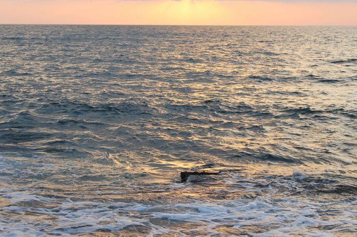 Golden sea?