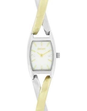 DKNY Twist Two-Tone Watch