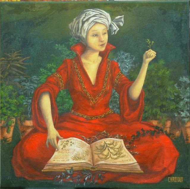 Hildegarde by Catherine Chauloux