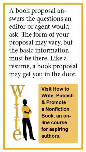 How to write a book proposal