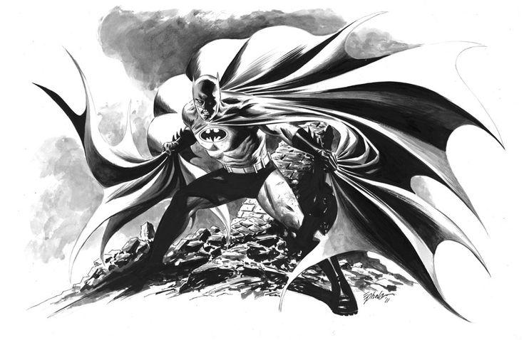 Batman by Steve EptingBatman Comics, Comics Art, Comics Book, Batman Overload, Steveept, Steve Epting, Awesome Art, Dark Knights, Batman Steve