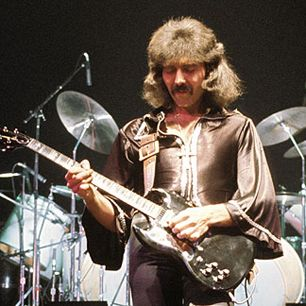 While others were spinning solo stairways to the stars, Black Sabbath's left-handed Tony Iommi went in the opposite direction.