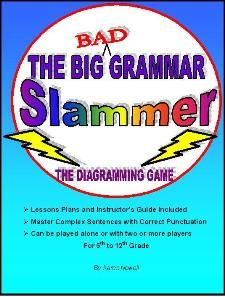 The Big Bad Grammar Slammer - Fun, New Way to Learn Diagramming! Review by @Dawn Winters