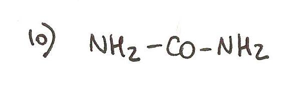 Ejercicio 10 de formulación orgánica. Nombra la siguiente amida.