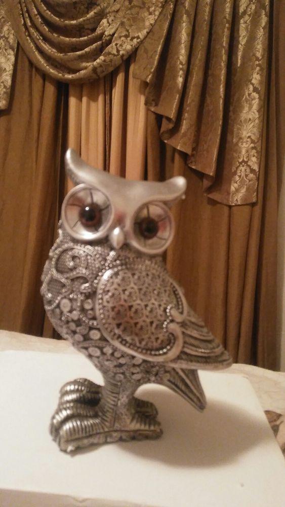 Elegant Metal Owls for Sale