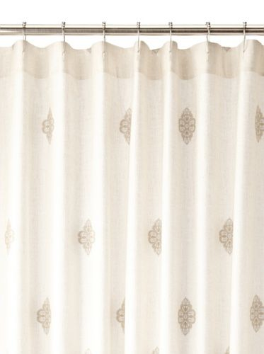 OFF Charisma Marrakesh Shower Curtain, Pale Blue/Khaki, X