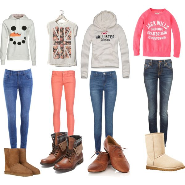 4 fall/winter outfits - Polyvore