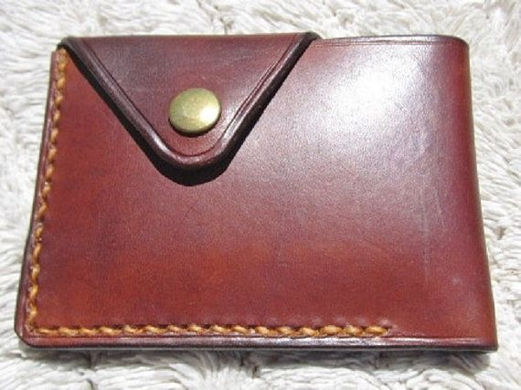 Leather Wallet Mens by johnbrandonusa on Etsy, $30.00