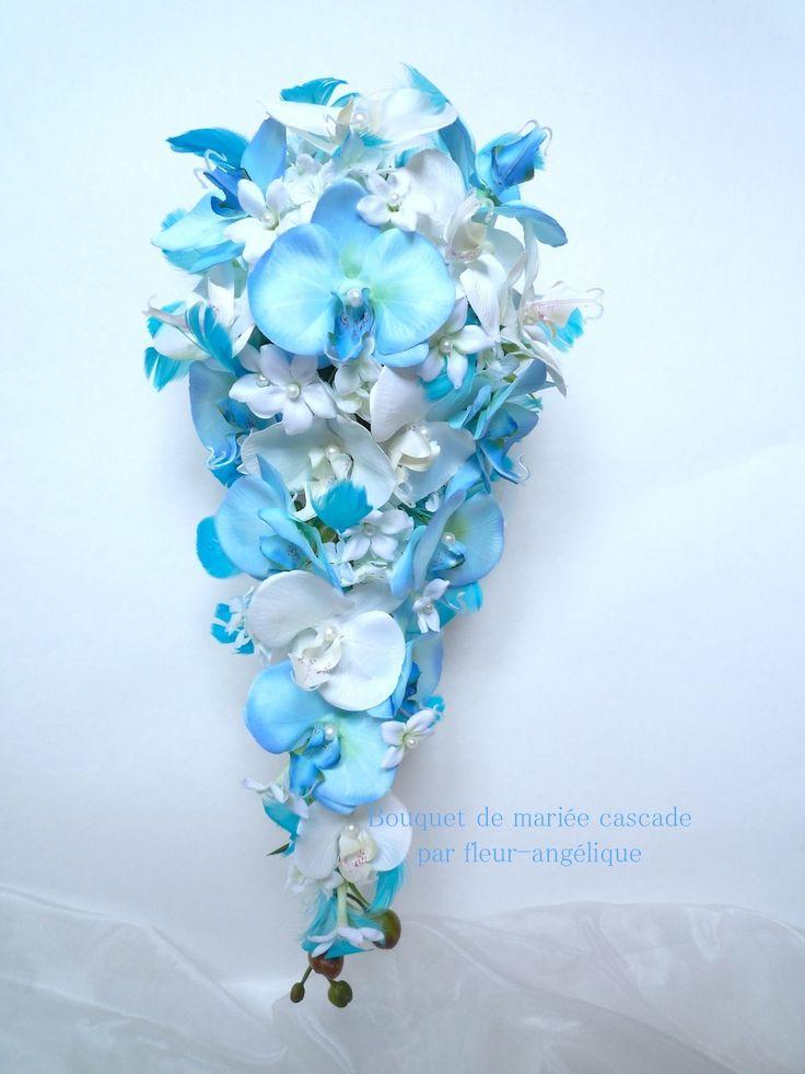 les 25 meilleures idées de la catégorie bouquet d'orchidée bleu