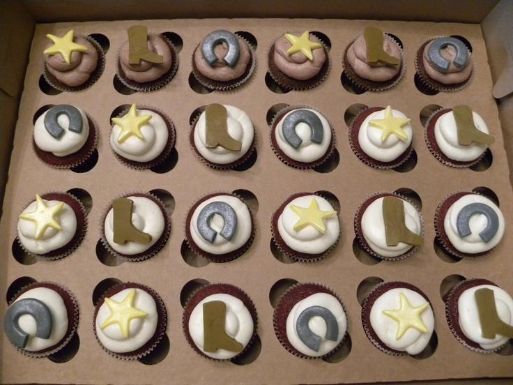 western theme cupcakes
