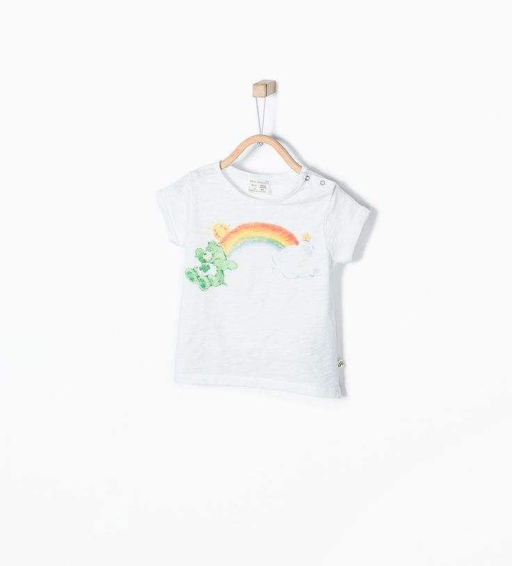 "Image 1 of ""Care bears"" graphic T-shirt from Zara"