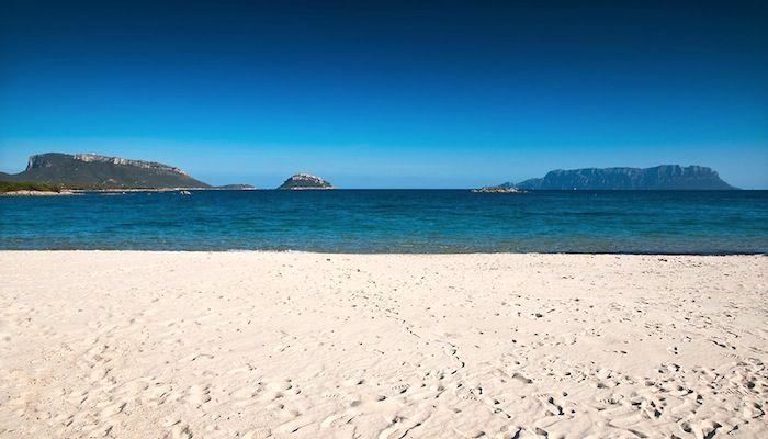 Cala Sassari beach, Golfo Aranci, Olbia, Sardinia.