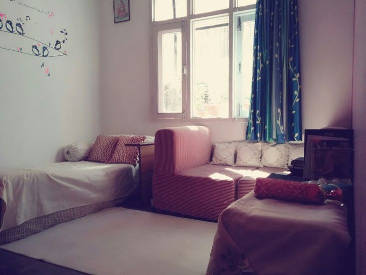 Redecorated Room's Full View