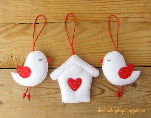 Handmade by Helga: Birds