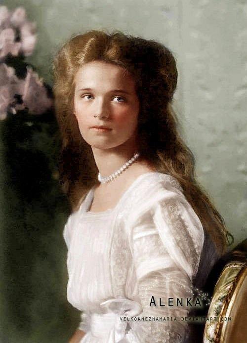 Grand Duchess Olga Nikolaevna Romanova of Russia (1895-1918)