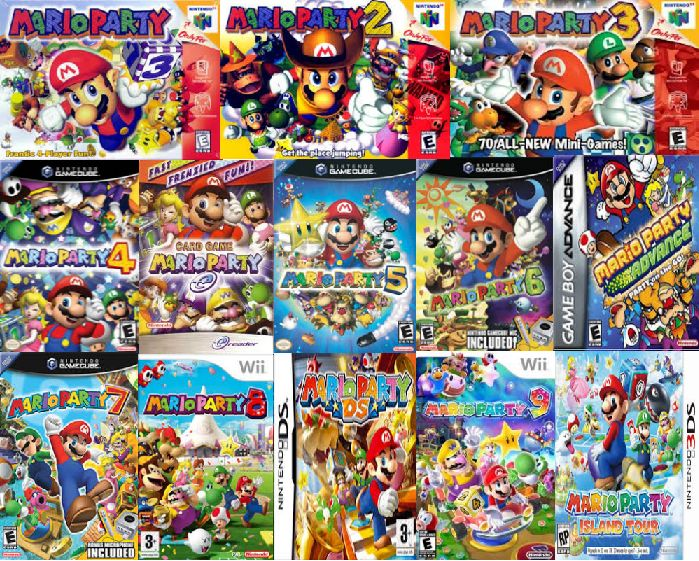 All Mario Party`s