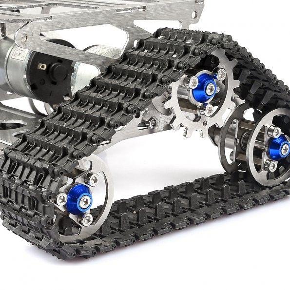 ALL Metal Robot Tracks Development Platform FPV for Arduino , Arduino, Robotics | Sainsmart