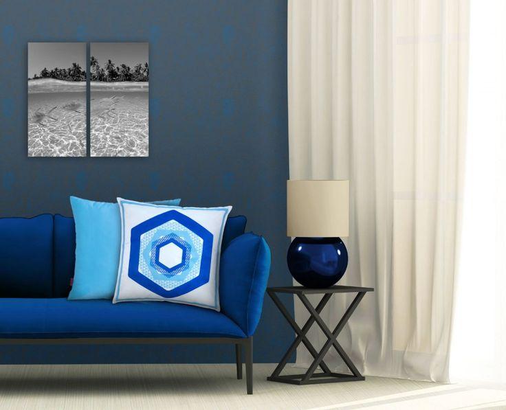 Evinize küçük dokunuşlarla şıklık katın. #yastık #pillow #decor #decoration #akşehir #deniz #turkuaz #mavi #home #ev #tekstil