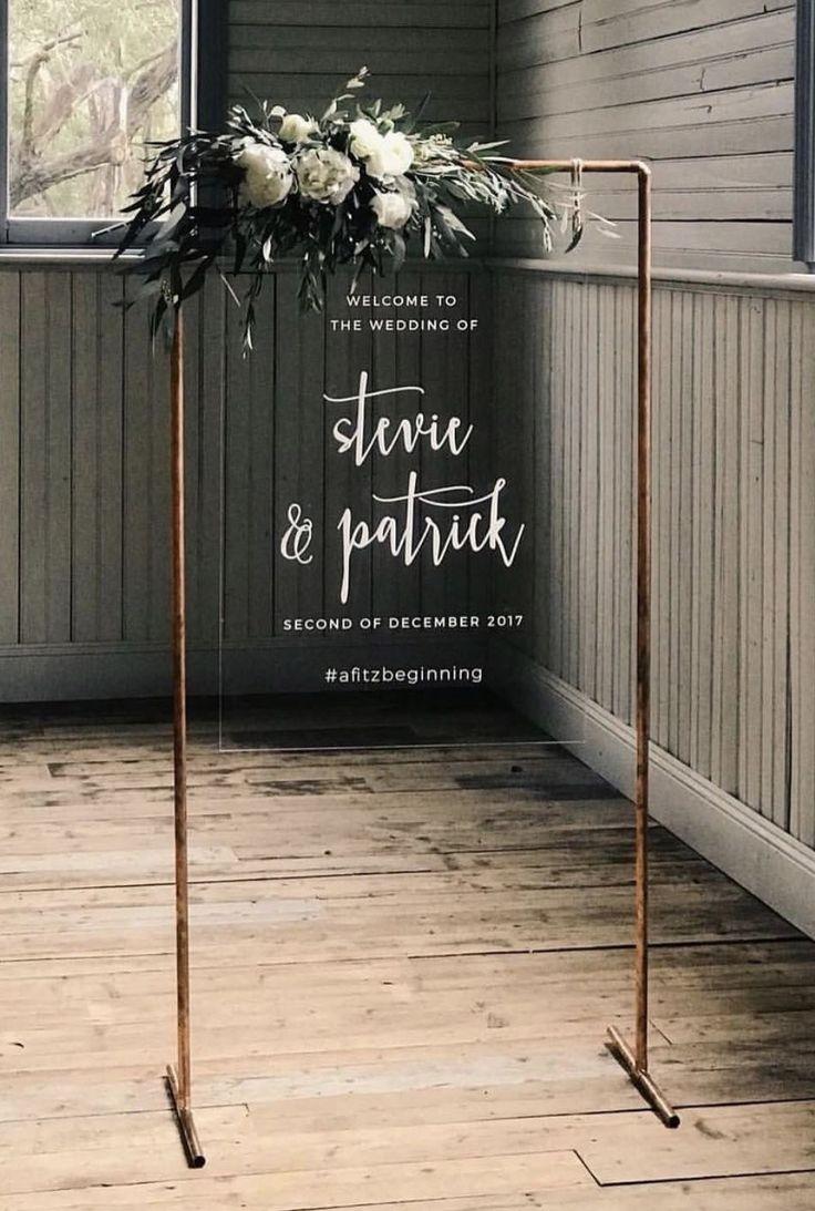 30 Trendige geometrische Hochzeitsideen für moderne Bräute