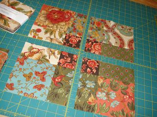 How to make quilts with charm packs -clever trick!k