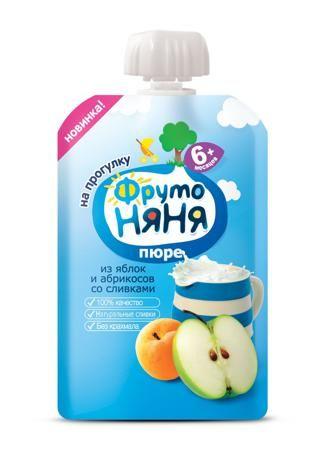 Пюре Фрутоняня яблоко-абрикос, 90 г  — 35р. -------------------- «ФрутоНяня» — это высококачественное детское питание, для производства которого используются тщательно отобранное сырье и самые современные технологии. Предлагаемая линейка продуктов в полной мере удовлетворяет потребности ребенка раннего возраста в сбалансированной, полезной и вкусной пище. За счет содержания в яблоках органических кислот пюре является особенно полезным для детей раннего возраста. Пектин оказывает…